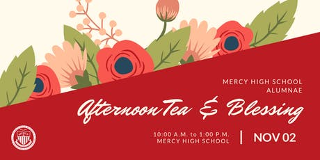 Alumnae Afternoon Tea & Blessing tickets