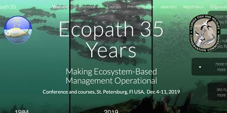 Ecopath 35th Anniversary Conference tickets