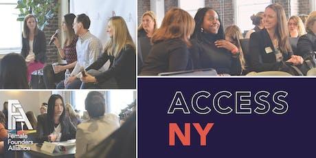 Access New York tickets