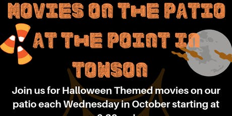 Movie Night on the patio at The Point: The Addams Family tickets