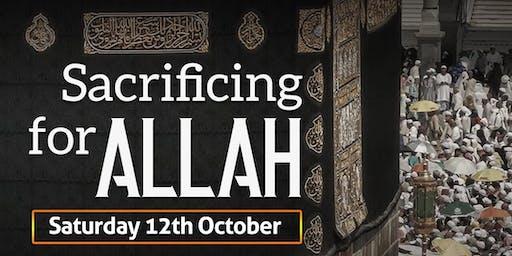 Sacrificing for Allah