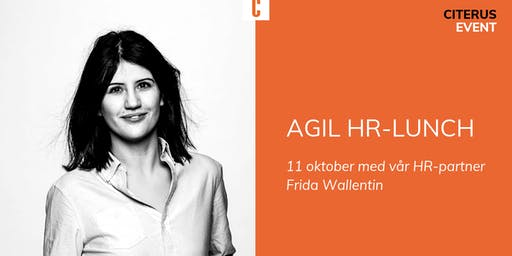 Agil-HR - lunch and learn
