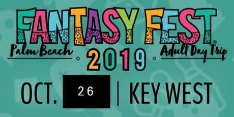 Fantasy Fest Palm Beach Adult Day Trip tickets