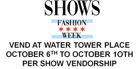 VEND at WATER TOWER PLACE!!  (Eventbrite Special ONLY!) tickets