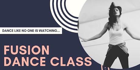 Fusion Dance Class tickets