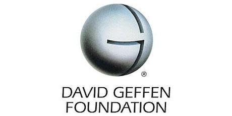 October Luncheon:  Meet the Funder - The David Geffen Foundation tickets