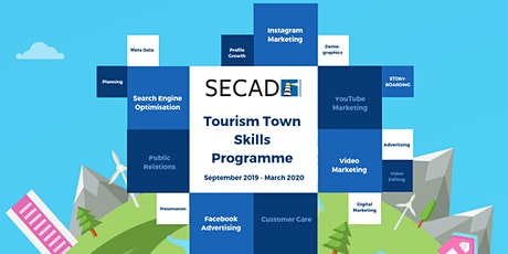 SECAD Tourism Towns Skills Programme - Video Marketing Programme 2 tickets
