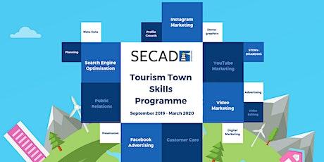 SECAD Tourism Towns Skills Programme - Video Marketing Programme 2 tickets