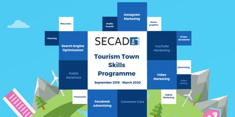 SECAD Tourism Towns Skills Programme - Public Relations Programme 2 tickets