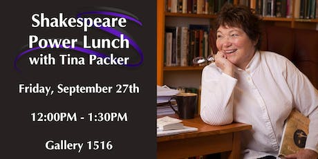 Shakespeare Power Lunch tickets