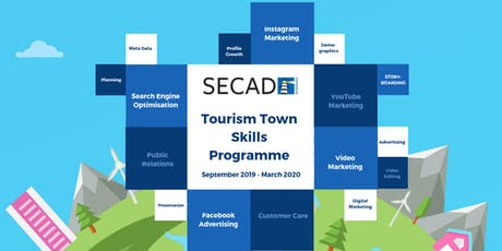 SECAD Tourism Towns Skills Programme - YouTube Marketing Prog 2 (Half Day) tickets