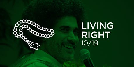 Living Right with Hisham Mahmoud tickets