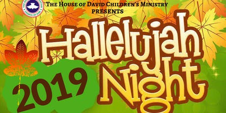 Halleluyah Night tickets