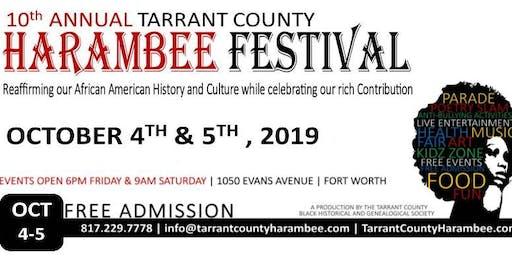 10th Annual Tarrant County Harambee Festival
