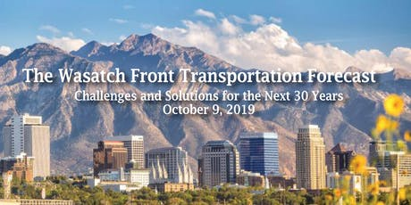 The Wasatch Front Transportation Forecast tickets