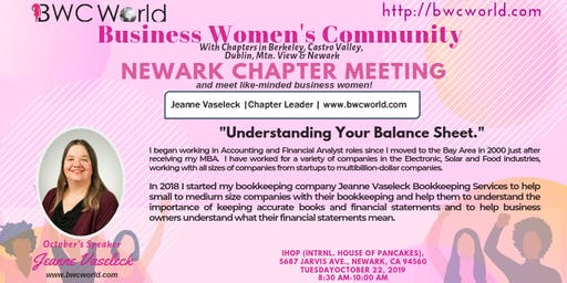 BWC Newark Chapter Meeting (October)