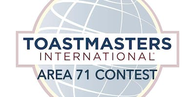 Toastmasters Area 71 Speech Contest
