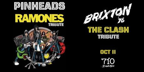 Pinheads - Ramones Tribute | Brixton 76' - The Clash Tribute tickets