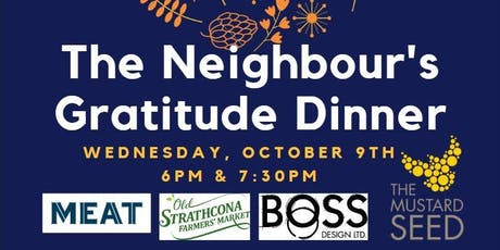 The Mustard Seed - Neighbor Centre Gratitude Dinner tickets