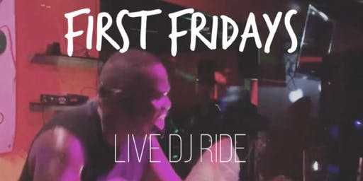First Friday's Live DJ Ride with Will and DJ CO at Club Decycle