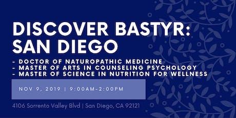 Discover Bastyr: San Diego tickets