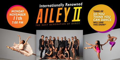AILEY II - Universally Renown Dance Performance [Free Community Tickets] tickets