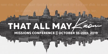 Missions Conference 2019 tickets
