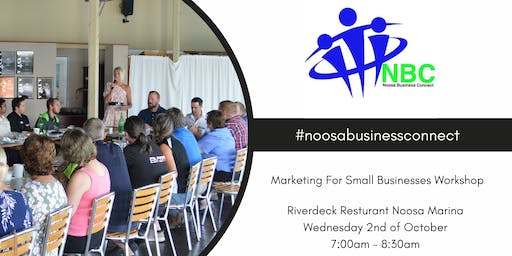 Noosa Business Connect -  Marketing For Small Businesses  Workshop