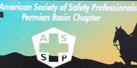 September Permian Basin ASSP Chapter meeting tickets