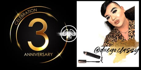 Gladglam 3rd Anniversary/ Diego's Makeup Seminar tickets