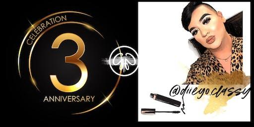 Gladglam 3rd Anniversary/ Diego's Makeup Seminar
