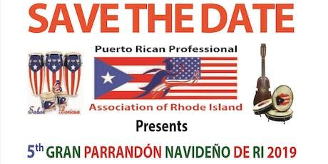 5to Gran Parrandón Navideño de Rhode Island tickets
