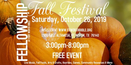 Fellowship Fall Festival