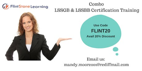Combo LSSGB & LSSBB Classroom Training in Moose Jaw, SK tickets