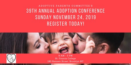 Adoptive Parents Committee Annual Conference 2019 tickets