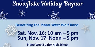Snowflake Holiday Bazaar