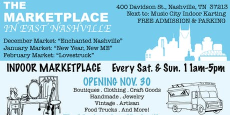 East Nashville Holiday Market: Enchanted Nashville tickets