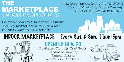 East Nashville Holiday Market: Enchanted Nashville
