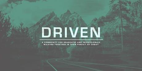 Driven: A Community for Graduates and Professionals tickets