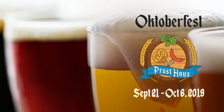 Oktoberfest Kick Off Weekend tickets