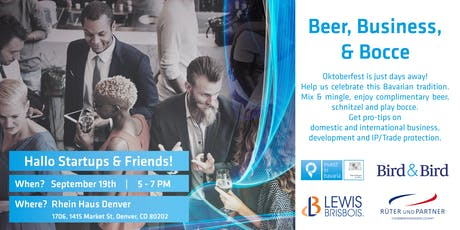 Beer, Business, & Bocce tickets
