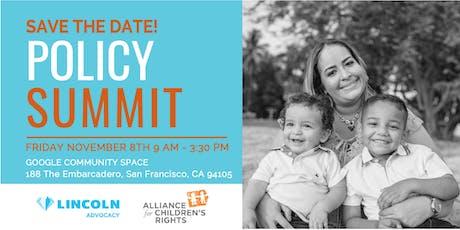 Policy Summit 2019 tickets