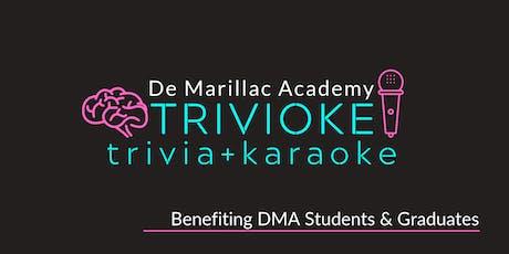De Marillac Academy Trivioke tickets