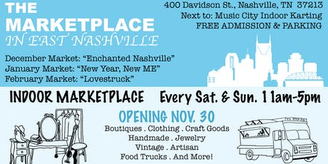 The Marketplace in East Nashville: Holiday Market tickets