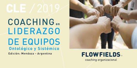 CURSO COACHING LIDERAZGO DE EQUIPOS tickets