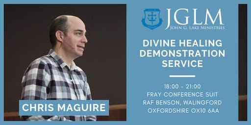 Divine Healing Demonstration Service