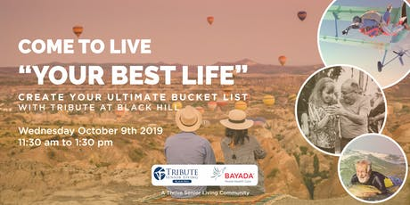 Create Your Bucket List tickets