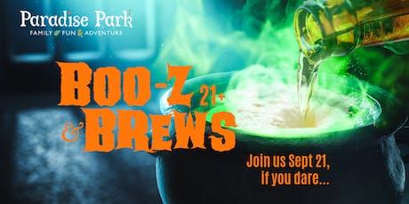 Boo-z & Brews tickets