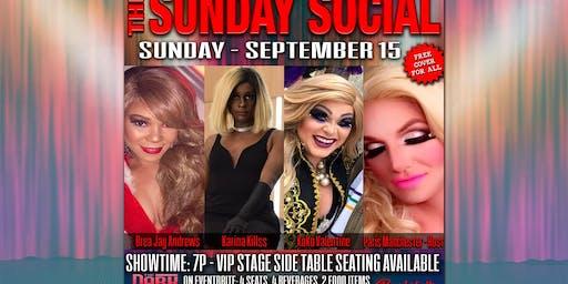 September 15 Sunday Social Show