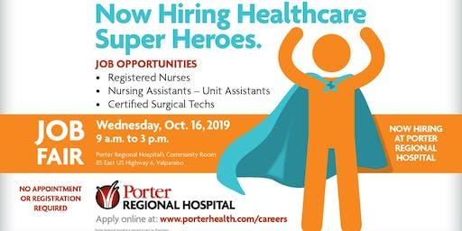 Job Fair at Porter Regional Hospital